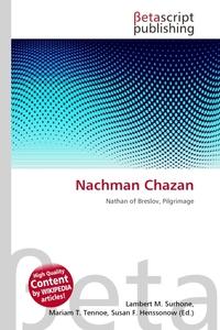 Nachman Chazan. Lambert M. Surhone