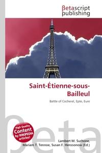 Saint-Etienne-sous-Bailleul. Lambert M. Surhone