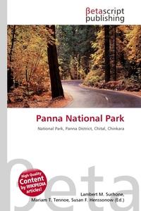 Panna National Park. Lambert M. Surhone