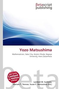 Yozo Matsushima. Lambert M. Surhone