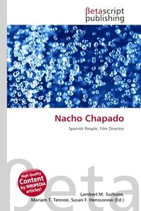 Nacho Chapado. Lambert M. Surhone