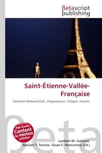 Saint-Etienne-Vallee-Francaise. Lambert M. Surhone