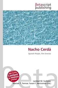 Nacho Cerda. Lambert M. Surhone