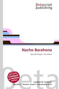Nacho Barahona. Lambert M. Surhone