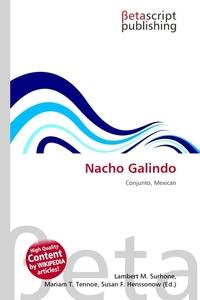 Nacho Galindo. Lambert M. Surhone