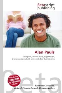 Alan Pauls. Lambert M. Surhone