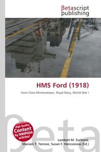 HMS Ford (1918). Lambert M. Surhone
