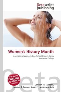 Women`s History Month. Lambert M. Surhone