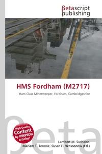 HMS Fordham (M2717). Lambert M. Surhone