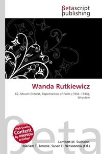 Wanda Rutkiewicz. Lambert M. Surhone