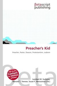 Preacher`s Kid. Lambert M. Surhone