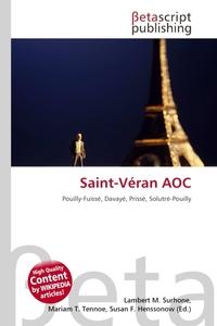 Saint-Veran AOC. Lambert M. Surhone
