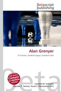 Alan Grenyer. Lambert M. Surhone