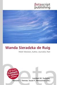 Wanda Sieradzka de Ruig. Lambert M. Surhone