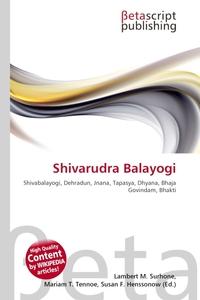 Shivarudra Balayogi. Lambert M. Surhone