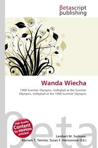 Wanda Wiecha. Lambert M. Surhone