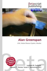 Alan Greenspan. Lambert M. Surhone