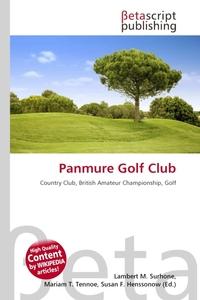 Panmure Golf Club. Lambert M. Surhone