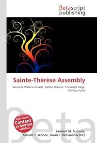 Sainte-Therese Assembly. Lambert M. Surhone