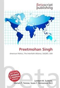 Preetmohan Singh. Lambert M. Surhone