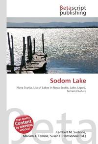 Sodom Lake. Lambert M. Surhone