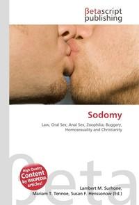 Sodomy. Lambert M. Surhone