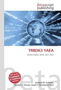 TRBDK3 YAEA. Lambert M. Surhone