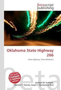 Oklahoma State Highway 266. Lambert M. Surhone