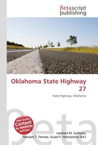 Oklahoma State Highway 27. Lambert M. Surhone
