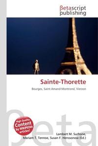 Sainte-Thorette. Lambert M. Surhone