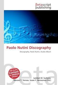 Paolo Nutini Discography. Lambert M. Surhone