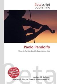 Paolo Pandolfo. Lambert M. Surhone
