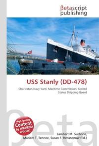 USS Stanly (DD-478). Lambert M. Surhone