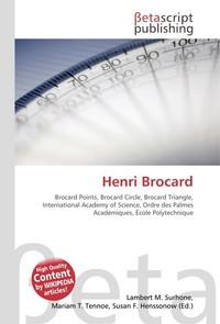 Henri Brocard. Lambert M. Surhone