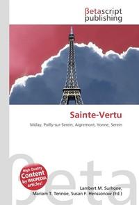 Sainte-Vertu. Lambert M. Surhone