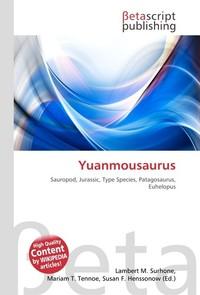 Yuanmousaurus. Lambert M. Surhone