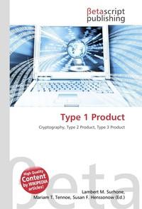 Type 1 Product. Lambert M. Surhone
