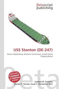 USS Stanton (DE-247). Lambert M. Surhone