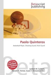 Paolo Quinteros. Lambert M. Surhone