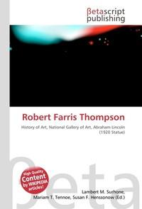Robert Farris Thompson. Lambert M. Surhone