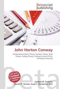 John Horton Conway. Lambert M. Surhone