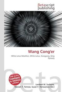 Wang Cong`er. Lambert M. Surhone