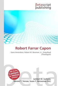 Robert Farrar Capon. Lambert M. Surhone