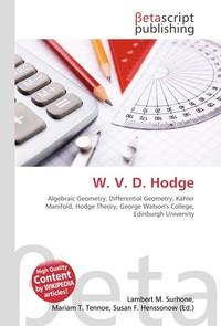 W. V. D. Hodge. Lambert M. Surhone