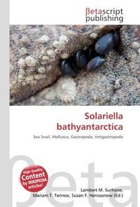 Solariella bathyantarctica. Lambert M. Surhone