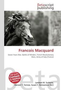 Francois Macquard. Lambert M. Surhone