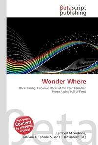 Wonder Where. Lambert M. Surhone