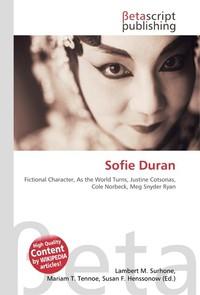 Sofie Duran. Lambert M. Surhone