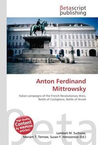 Anton Ferdinand Mittrowsky. Lambert M. Surhone