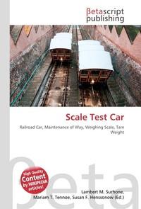Scale Test Car. Lambert M. Surhone